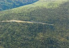 Access across Lone Star Ridge to JF Zone