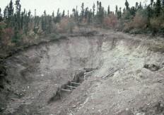 Ecavating early mine workings